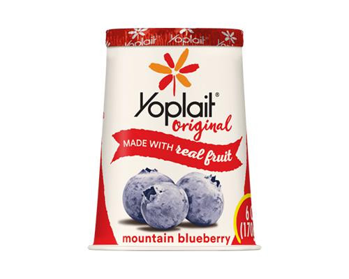 Yoplait Yogurt Mountain Blueberry • 6 oz