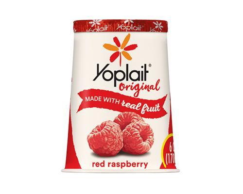 Yoplait Yogurt Red Rasberry • 6 oz