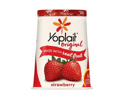 Yoplait Yogurt Strawberry • 6 oz