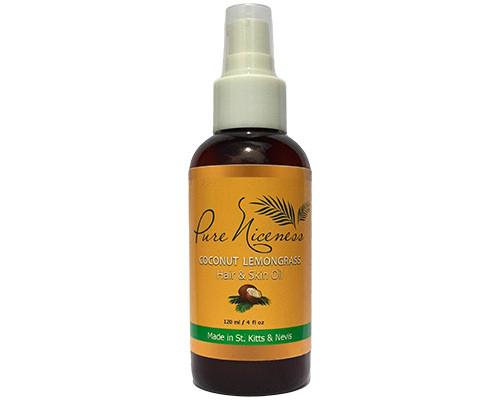 Coconut Lemongrass Hair & Skin Oil • 4 oz