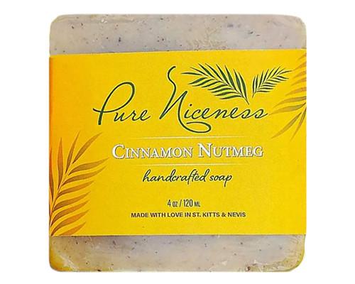 Cinnamon Nutmeg Soap Bar • 4 oz