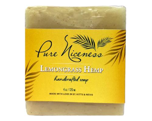 Lemongrass Hemp Soap Bar • 4 oz