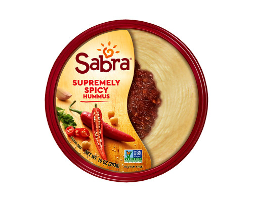Sabra Hummus Supremely Spicy • 10 oz