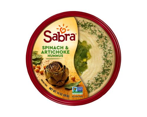 Sabra Hummus Spinach & Artichoke • 10 oz