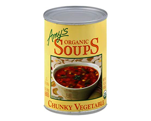 Amy's Organic Chunky Vegetable Soup • 14.3 oz
