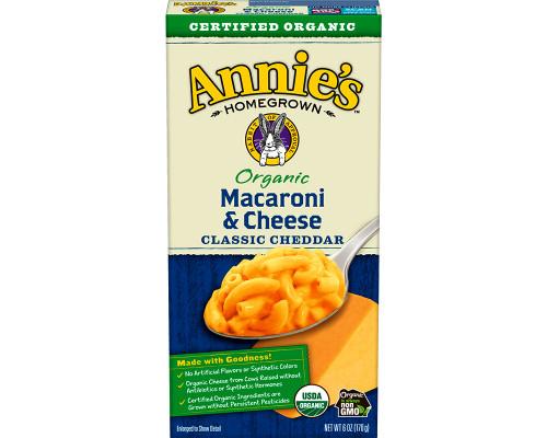 Annie's Organic Classic Cheddar Macaroni & Cheese • 6 oz
