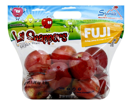 Lil Snappers Fuji Apples • 3 lbs