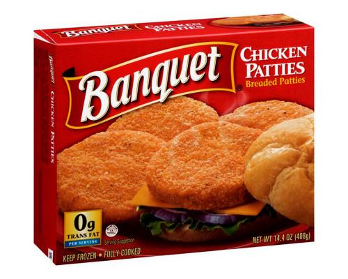 Banquet Chicken Patties • 14.4 oz
