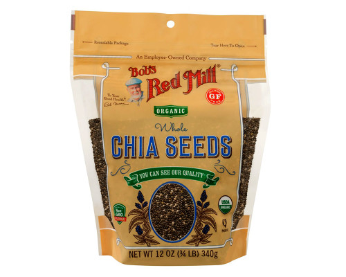 Bob's Red Mill Organic Chia Seeds • 12 oz