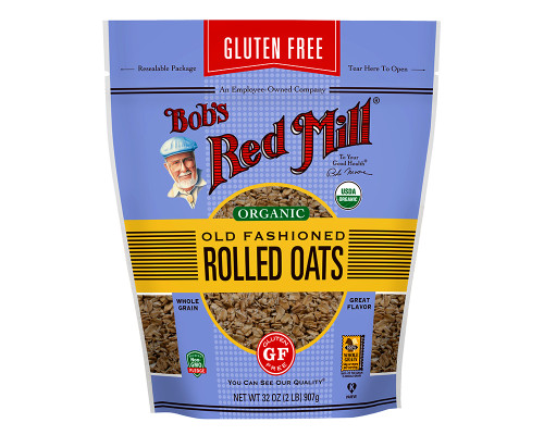 Bob's Red Mill Organic Old Fashioned Rolled Oats (GF) • 32 oz