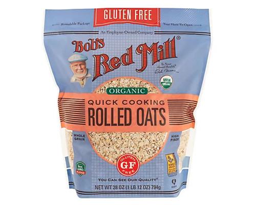 Bob's Red Mill Organic Quick Rolled Oats (GF) • 32 oz