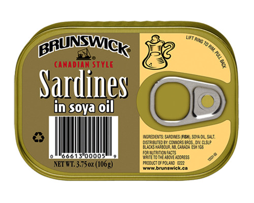 Brunswick Sardines Oil • 106 g