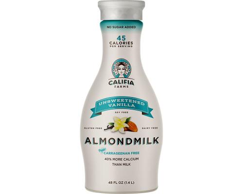 Califia Vanilla Almond Milk Unsweetened • 48 oz
