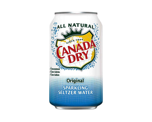 Canada Dry Soda Water • 12 oz
