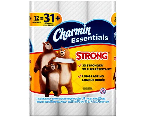 Charmin Essentials Strong - 12 pk