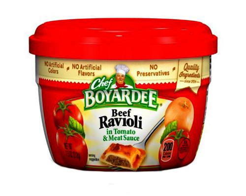 Chef Boyardee Beef Ravioli • 7.5 oz