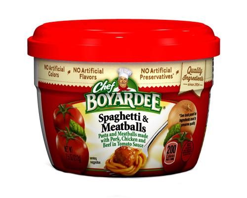 Chef Boyardee Spaghetti and Meatballs • 7.5 oz