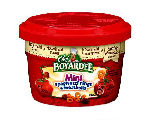 Chef Boyardee Mini Spaghetti Rings & Meatballs • 7.5 oz