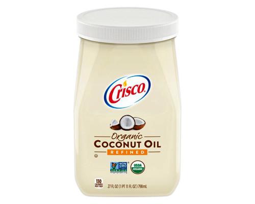 Crisco Organic Coconut Oil • 27 oz