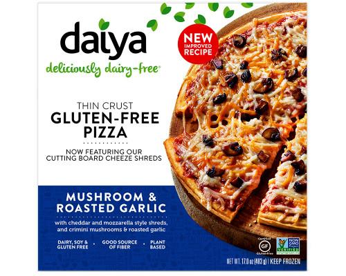 Daiya Mushroom & Roasted Garlic Pizza (GF) • 17 oz