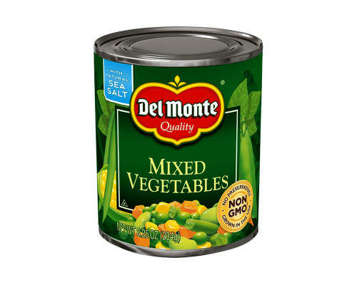 Del Monte Mixed Vegetables • 8.25 oz
