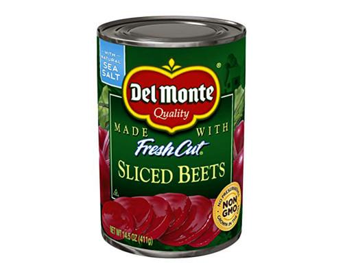Del Monte Sliced Beets • 14.5 oz