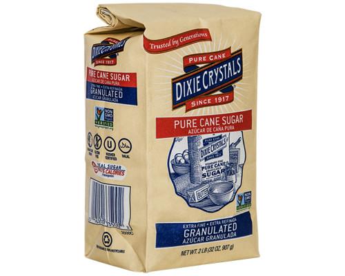 Dixie Granulated White Sugar • 2 lbs