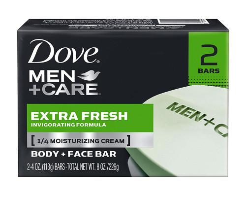 Dove Men Care Body + Facebar - 2 pk • 4 oz