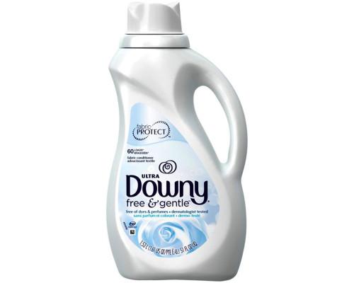 Downy Liquid Fabric Softener Free & Gentle • 51 oz