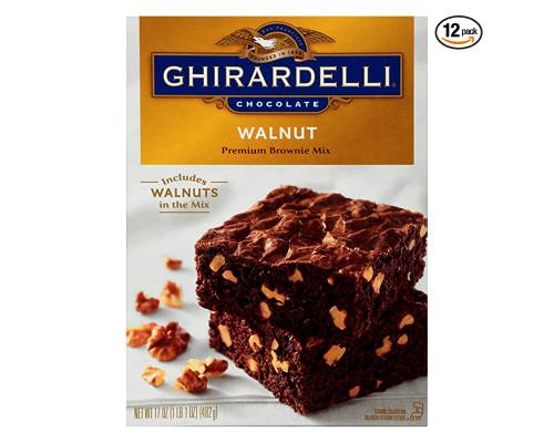 Ghirardelli Walnut Brownie • 17 oz