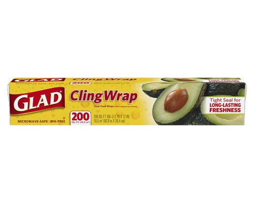 Glad Cling Wrap - 200 Ft