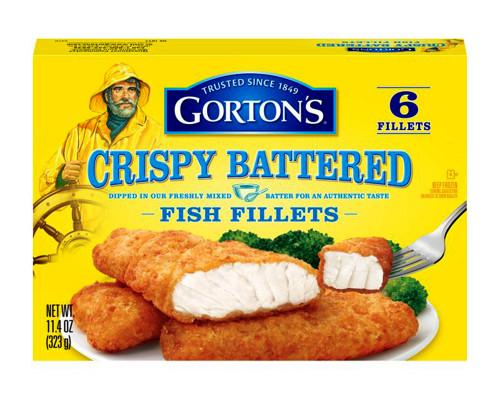 Gorton's Crispy Battered Fish Fillets - 6 ct • 11.4 oz