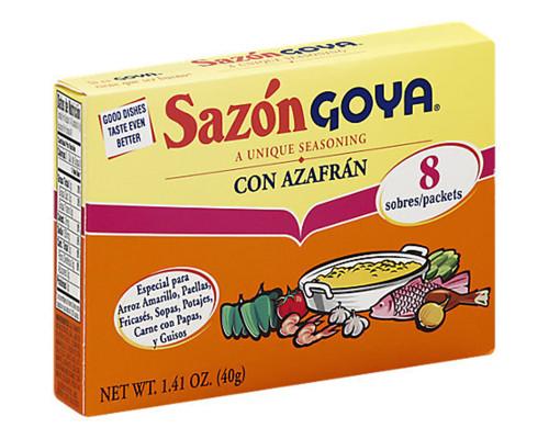 Goya Sazon - 8 ct • 1.41 oz