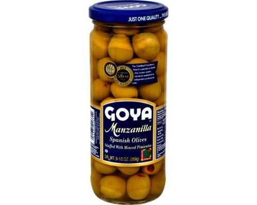 Goya Manzanilla Olives • 9.5 oz