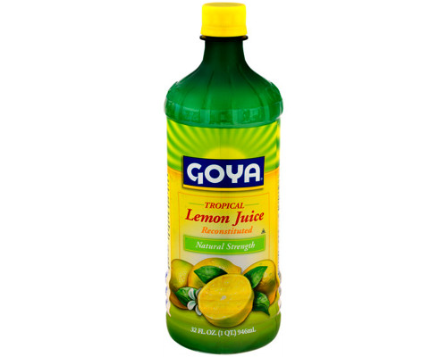Goya Tropical Lemon Juice • 32 oz