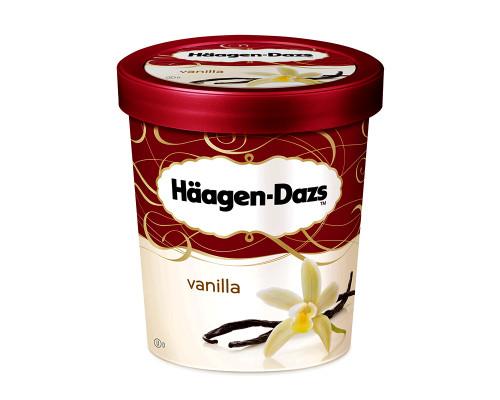 Haagen Dazs Ice Cream Vanilla • 415 g