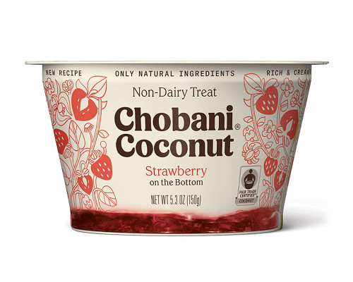 Chobani Coconut Strawberry Non-Dairy • 5.3 oz