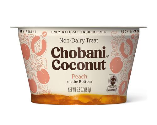 Chobani Coconut Peach Non-Dairy • 5.3 oz