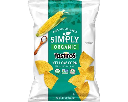 Tostitos Organic Yellow Corn Tortilla Chips • 8.25 oz