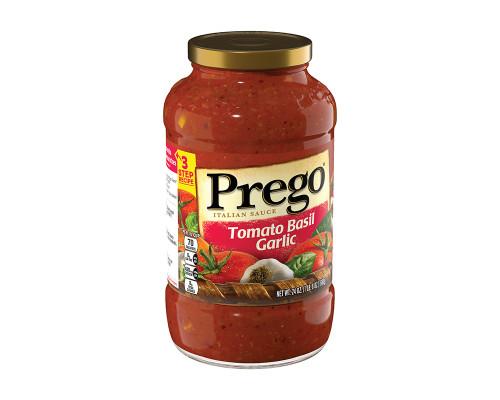 Prego Tomato Basil Garlic Italian Sauce • 24 oz