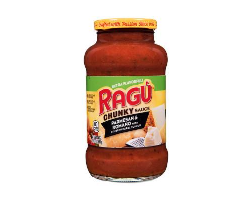 Ragu Chunky Sauce Parmesan & Romano • 24 oz