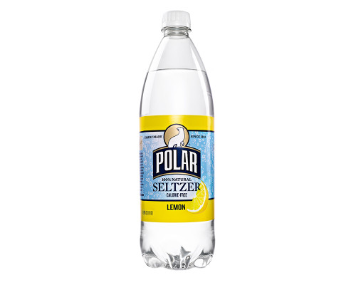 Polar Seltzer Lemon • 33.8 oz
