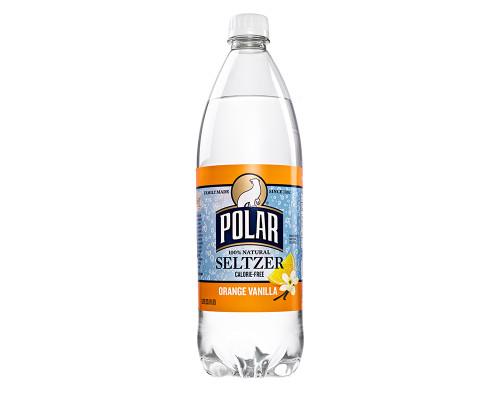 Polar Seltzer Orange Vanilla • 33.8 oz