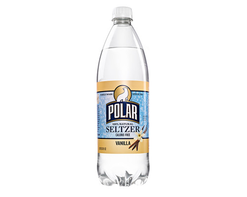 Polar Seltzer Vanilla • 33.8 oz
