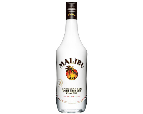 Malibu Caribbean Rum with Coconut Original • 33 oz