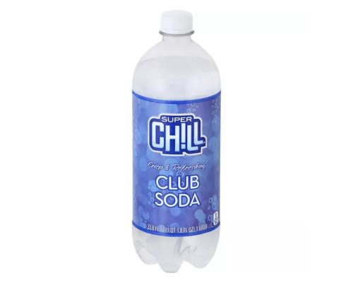 Super Chill Club Soda • 33.8 oz