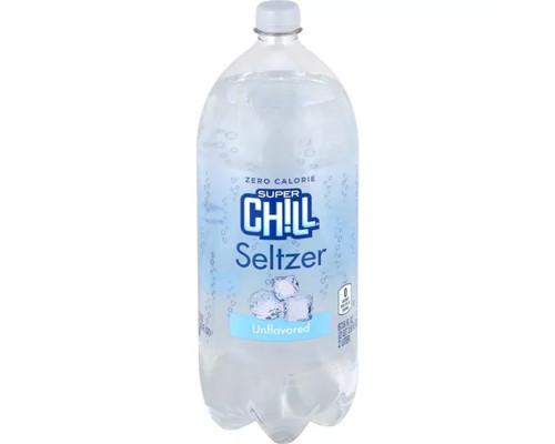 Super Chill Seltzer Unflavored • 33.8 oz
