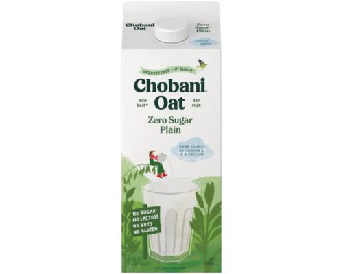 Chobani Oat Milk Unsweetened Plain • 52 oz