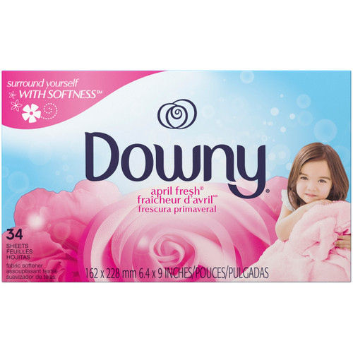 Downy April Fresh Dryer Sheets - 34 ct