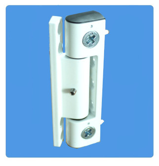 Neon Adjustable Butt Hinge for UPVC Doors in White